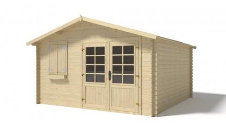 Domek ogrodowy 400x400 cm nieimpregnowany