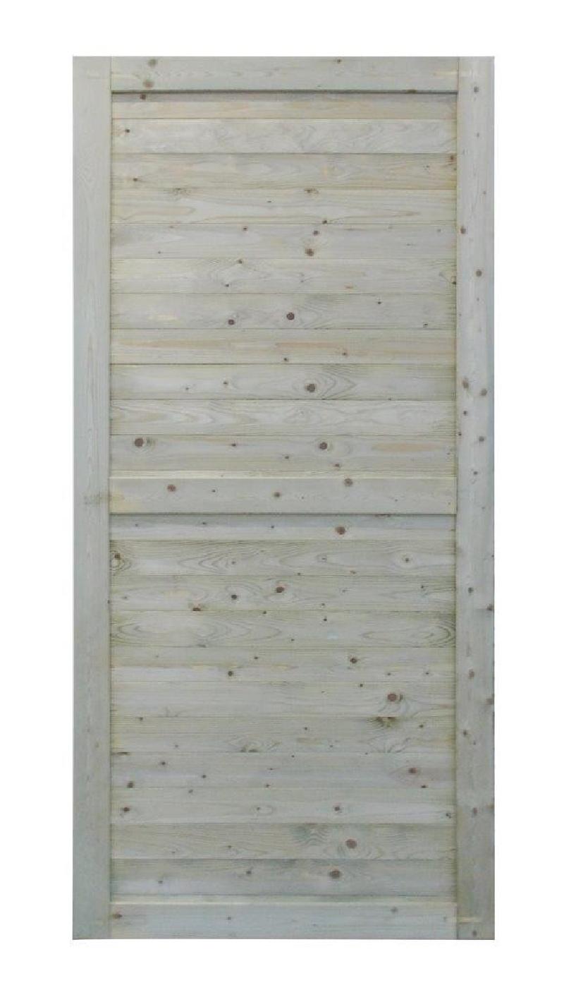 Panel pełny płot 101x217cm zielony WYPRZEDAŻ