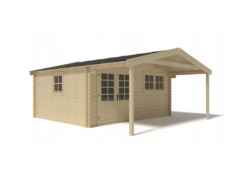 Domek ogrodowy 500x400+190 cm nieimpregnowany