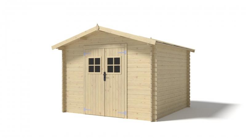 Domek ogrodowy 300x300 cm nieimpregnowany PROMO