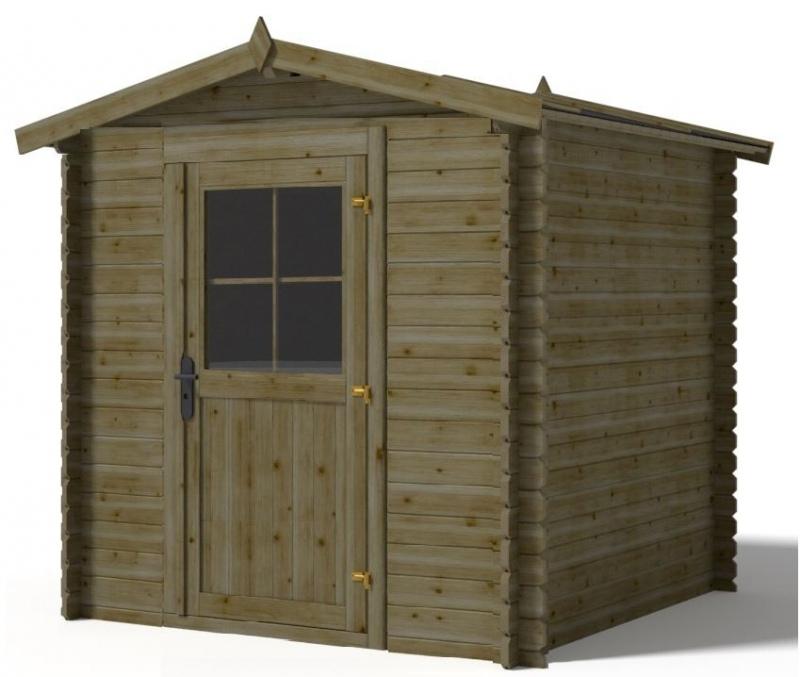 Domek ogrodowy 1,9x1,9 m 190x19 cm ZIELONY