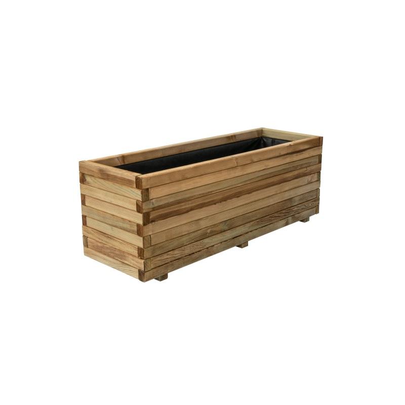 Donica drewniana 120x40x40cm