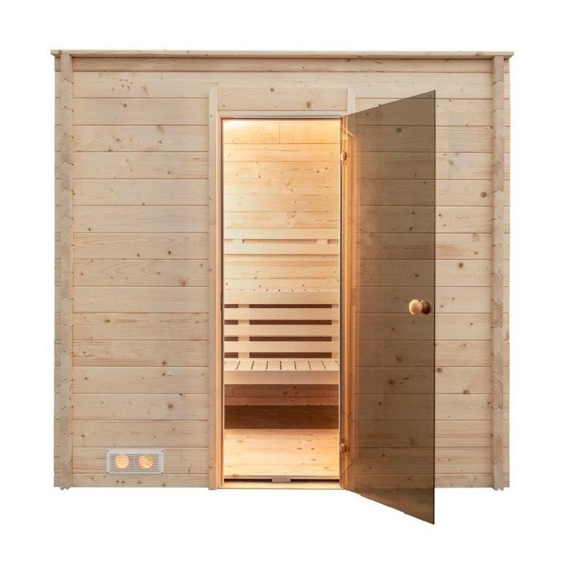 Sauna 215 x 215 cm