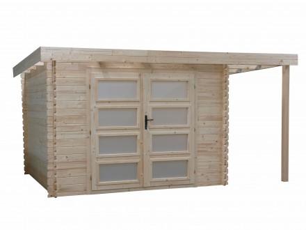 Domek ogrodowy 300x300+120 cm nieimpregnowany