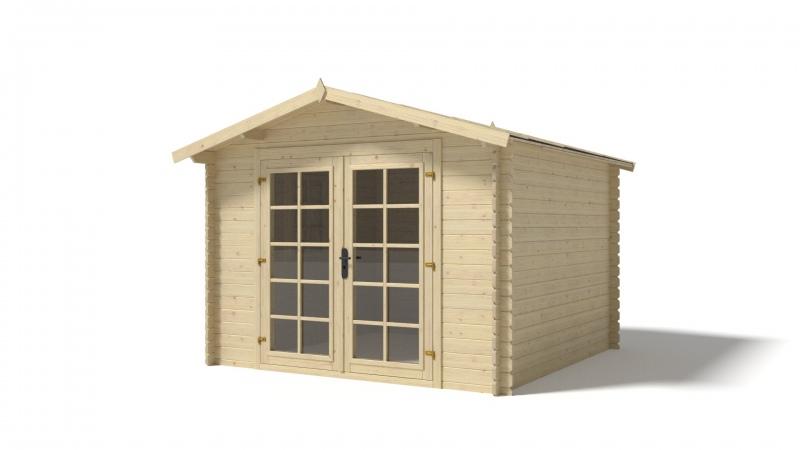 Domek ogrodowy 3x3 m nieimpregnowany+ Legary gratis!