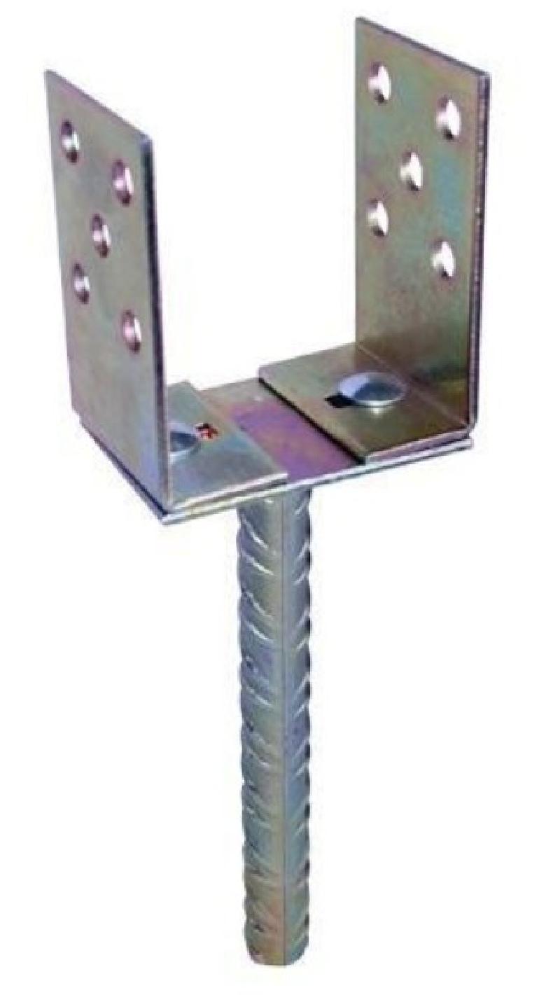 Kotwa podstawa słupa regulowana do wmurowania  0-165 mm
