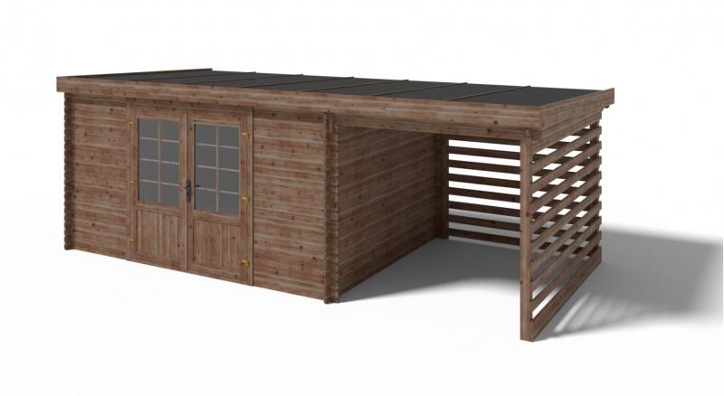Domek ogrodowy 395x295+200X295