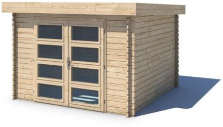 Domek ogrodowy 300x250 cm nieimpregnowany