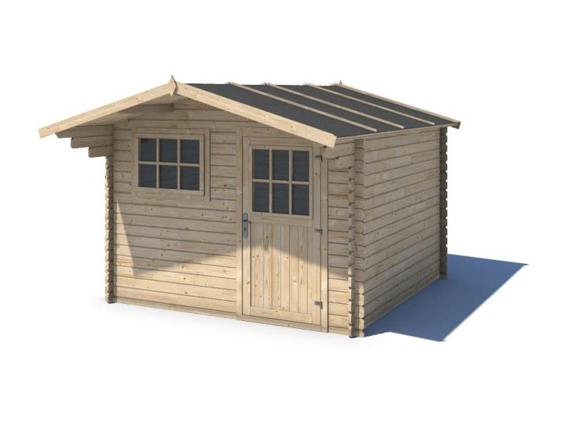 Domek ogrodowy KOMFORT 300x250+90 cm nieimpregnowany
