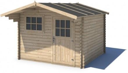 Domek ogrodowy KOMFORT 300x200+90 cm nieimpregnowany