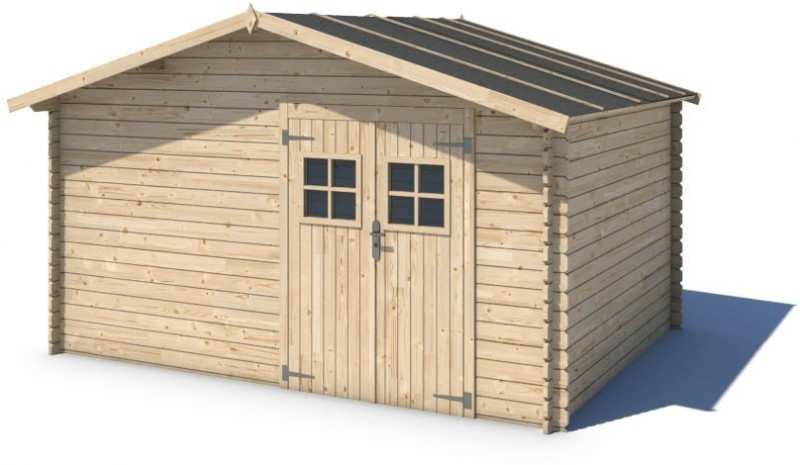 Domek ogrodowy 400x300 cm nieimpregnowany