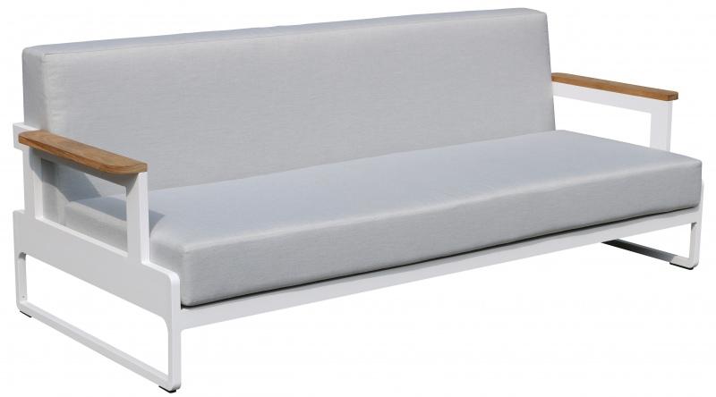 Sofa ogrodowa trzyosobowa 90x200xH.77 cm