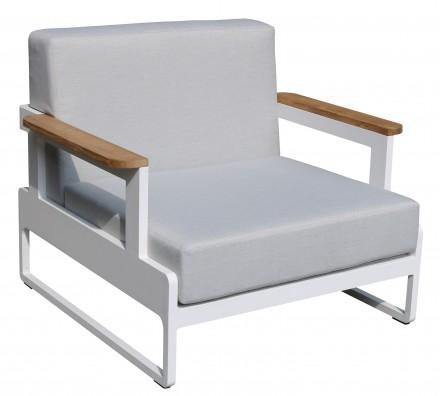 Fotel ogrodowy 90x85xH.77 cm