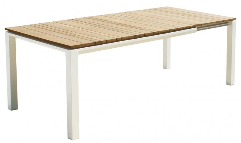 Stół ogrodowy rozkładany 90x150/210xH.75 cm